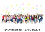 diverse world students... | Shutterstock . vector #179750375