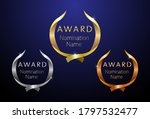 awards logotype set. isolated... | Shutterstock .eps vector #1797532477