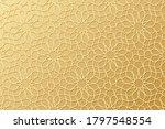 islam pattern. gold ottoman... | Shutterstock . vector #1797548554
