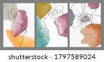 abstract contemporary modern... | Shutterstock .eps vector #1797589024