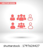 businessman vector icon style...   Shutterstock .eps vector #1797624427