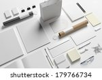 blank stationery  branding... | Shutterstock . vector #179766734