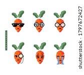 carrot logo vector for healthy...