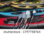 View Of Kayaking Equipment ...