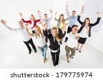 group of a happy business... | Shutterstock . vector #179775974