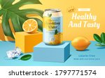 sparkling water advertisement... | Shutterstock .eps vector #1797771574