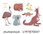 Kangaroo  Koala   Wombat  Emu  ...