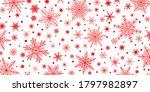 christmas background of various ... | Shutterstock .eps vector #1797982897