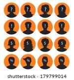 vector illustration of man and... | Shutterstock .eps vector #179799014