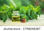 Peppermint Essential Oil In A...