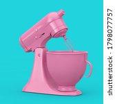Pink Kitchen Stand Food Mixer...