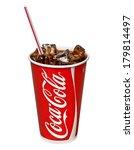 editorial photo of classic coca ... | Shutterstock . vector #179814497