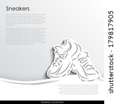 sneakers for sports abstract... | Shutterstock .eps vector #179817905