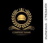 furniture logo template luxury... | Shutterstock .eps vector #1798266454