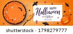 happy halloween promo sale... | Shutterstock .eps vector #1798279777