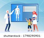 physician explaining human... | Shutterstock .eps vector #1798290901
