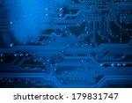 motherboard details  computer... | Shutterstock . vector #179831747
