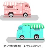 flat illustration of a pink and ...   Shutterstock .eps vector #1798325404