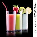 set of tasty summer fruits... | Shutterstock . vector #179832704