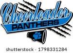 Panthers Cheerleader Team...