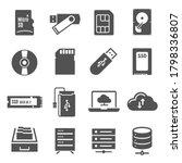 Data Storage Bold Black...