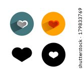 heart.vector format | Shutterstock .eps vector #179833769