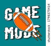 game mode text  illustration of ...   Shutterstock .eps vector #1798375414