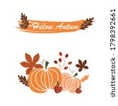 Autumn Poster Vector. Hello...