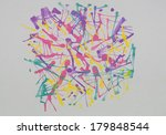 abstract colorful background...   Shutterstock . vector #179848544