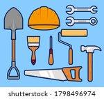 handyman maintenance repair... | Shutterstock .eps vector #1798496974