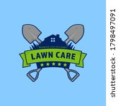 gardening lawn care company... | Shutterstock .eps vector #1798497091