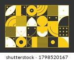 color geometric design  vector... | Shutterstock .eps vector #1798520167