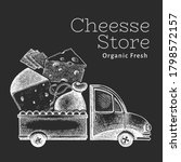 Cheese Shop Delivery Logo...