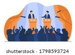 politicians talking or having...   Shutterstock .eps vector #1798593724