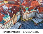 Top View Of Prague Old Town ...