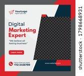 digital marketing agency social ...   Shutterstock .eps vector #1798668931