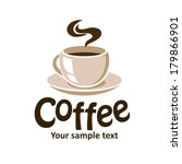 vector cup of coffee | Shutterstock .eps vector #179866901