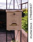 A Retro Looking White Mailbox ...