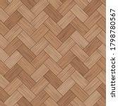 floor wood parquet. flooring... | Shutterstock .eps vector #1798780567