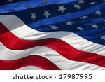 american flag | Shutterstock . vector #17987995