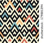 seamless vector geometric... | Shutterstock .eps vector #179881394