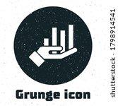 grunge pie chart infographic...
