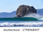 A Perfect Wave At The Famous...