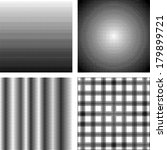 set of screentone patterns for... | Shutterstock .eps vector #179899721