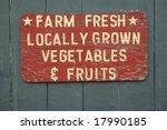 Farm Fresh Vegetables And...