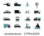 vehicles design over white... | Shutterstock .eps vector #179910329