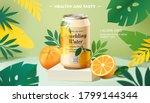 sparkling water promo banner... | Shutterstock .eps vector #1799144344