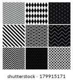 seamless geometric hipster... | Shutterstock .eps vector #179915171