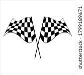 race flag various designs ... | Shutterstock .eps vector #1799189671