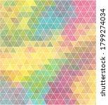 colored modern triangular... | Shutterstock .eps vector #1799274034